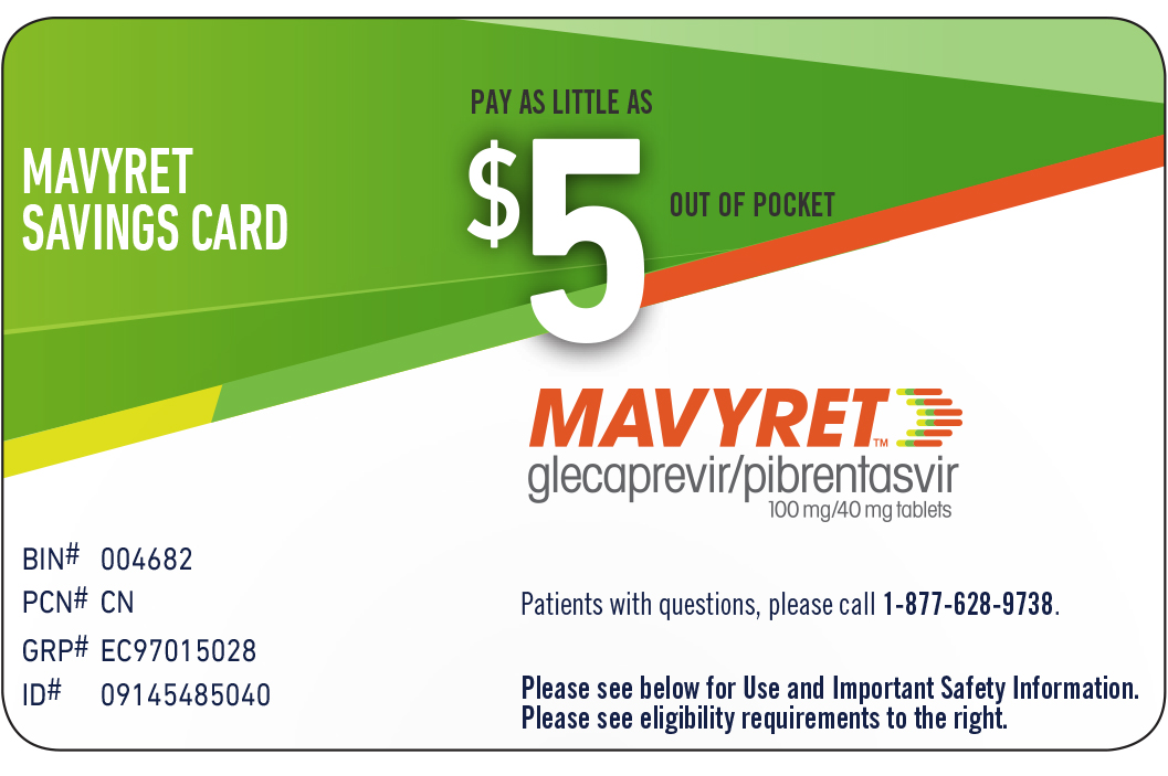 MAVYRET Copay Savings Card
